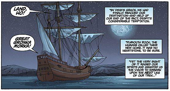 Trollkind Panel Three, Image: Dark Horse Comics