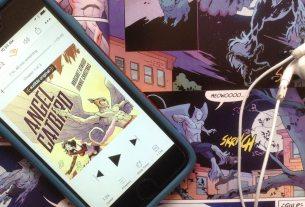 margaret atwood comic book audiobook