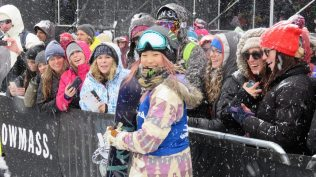 Chloe Kim at the Winter X Games