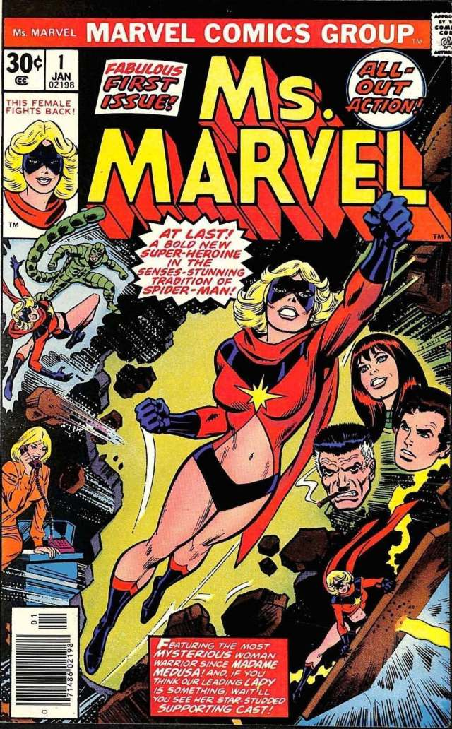 Ms. Marvel #1 1977