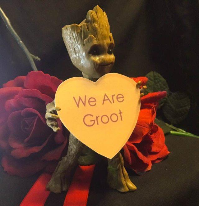 Geeky Valentine Groot