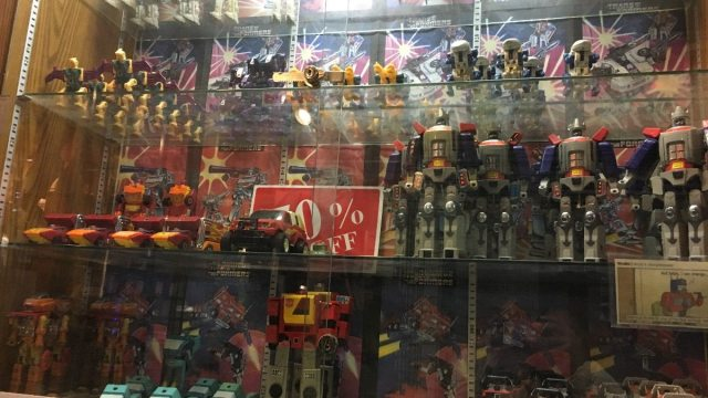 Collectibles on sale at Big Fun