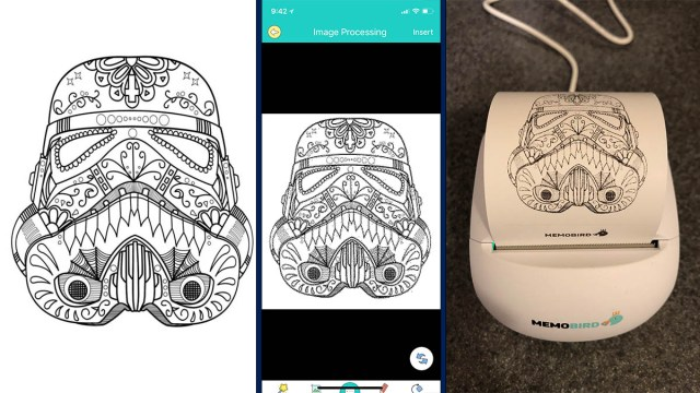Who doesn't like to color stormtroopers? Coloring page by EverythingEtsy.com \ Image: Dakster Sullivan