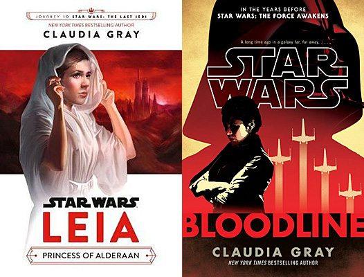 Leia: Princess of Alderaan and Bloodline, Images: Del Rey/Disney-Lucasfilm Press