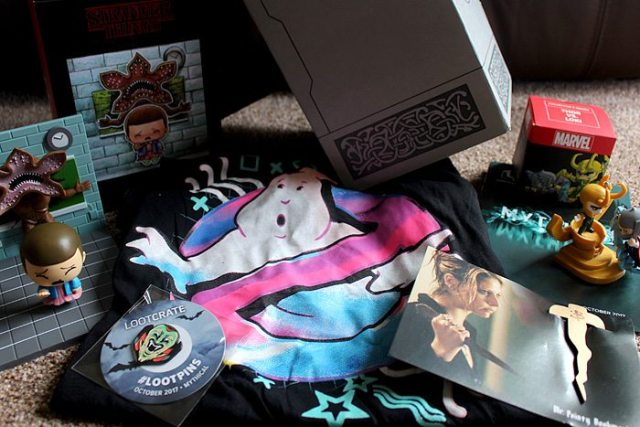 Mythical Themed Lootcrate, Image: Sophie Brown
