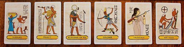 Pharaoh Cards, Image: Sophie Brown