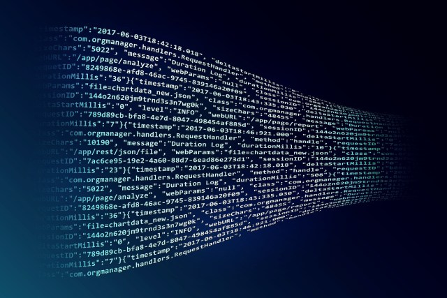 The blockchain improves the security for data