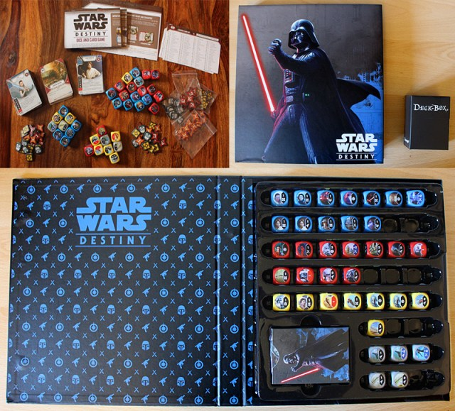 My Destiny Collection Organized Into One Binder and One Deck Box, Images: Sophie Brown