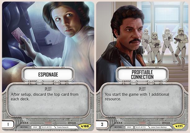 Sample Plot Cards, Image: Fantasy Flight Games