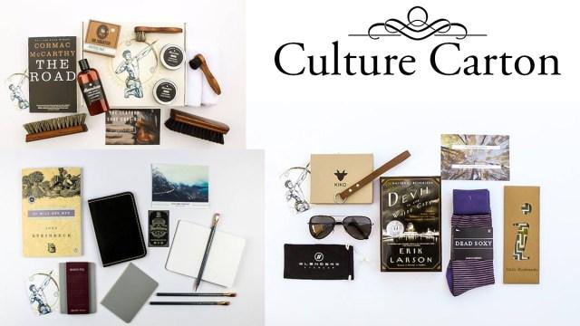 Culture carton father's day idea books