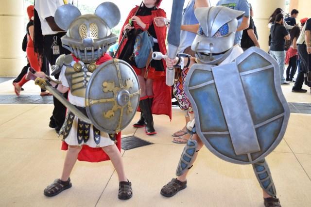 Mickey and Blastoise gladiators Image Dakster Sullivan