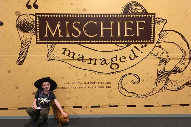 Mischief Managed, Image: Sophie Brown