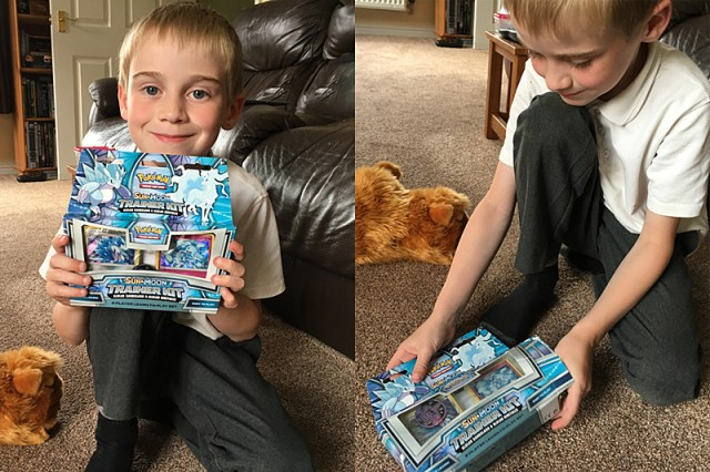My Pokemon Fan Opens the Trainer Kit, Image: Sophie Brown
