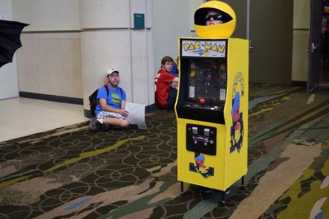 Pacman arcade Image Dakster Sullivan