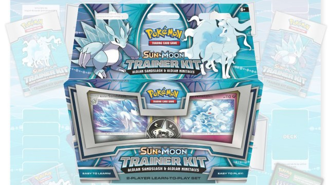 Pokemon TCG Alolan Sandslash and Alolan Ninetails Trainer Kit, Image: The Pokemon Company