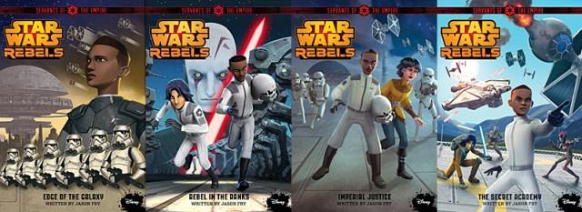 Servants of The Empire Covers, Images: Disney-Lucasfilm Press