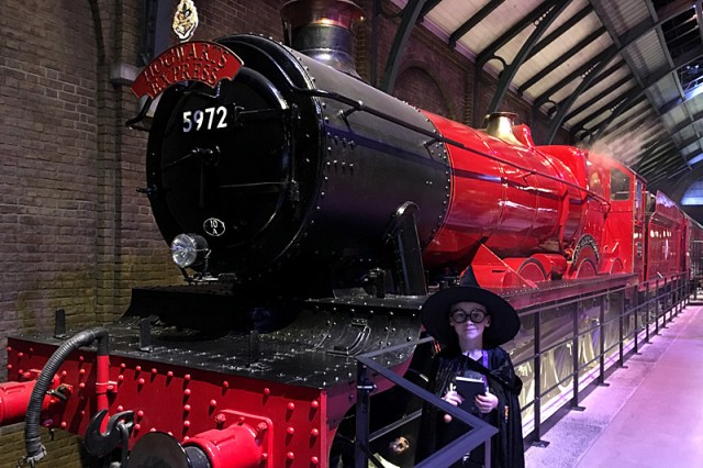 The Hogwarts Express at The Harry Potter Studios Tour, Image: Sophie Brown