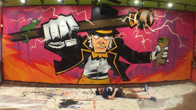 Justin Peterson and his work for Tijuana Flats in Winston Salem, NC