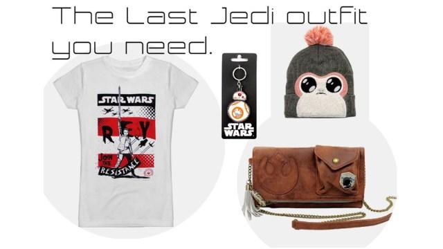 Last Jedi Outfit \ Images: Pop Stop