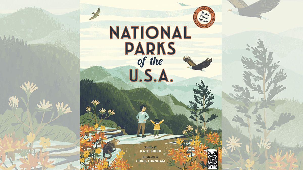 National Parks of The USA, Image: Wide Eyed Editions