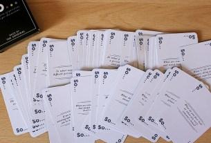 So Cards, Image: Sophie Brown