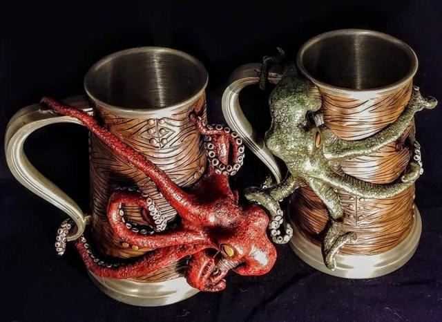 Kraken Mugs by Silver Root Studios