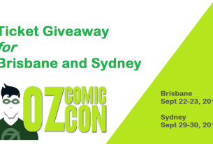 Oz Comic-Con Giveaway