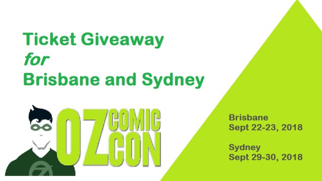 Oz Comic-Con Giveaway