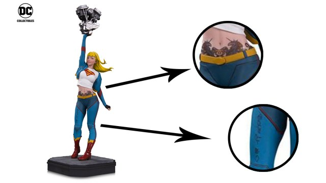 Supergirl Detail \ Images: DC Comics
