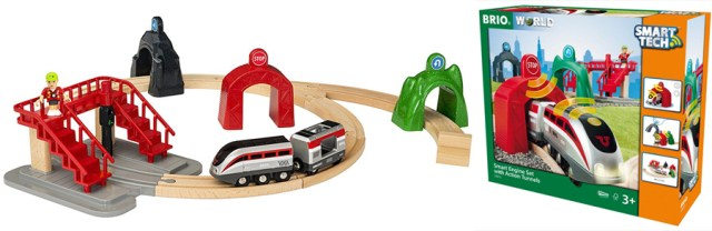 Brio Smart Engine Set with Action Tunnels, Image: Brio