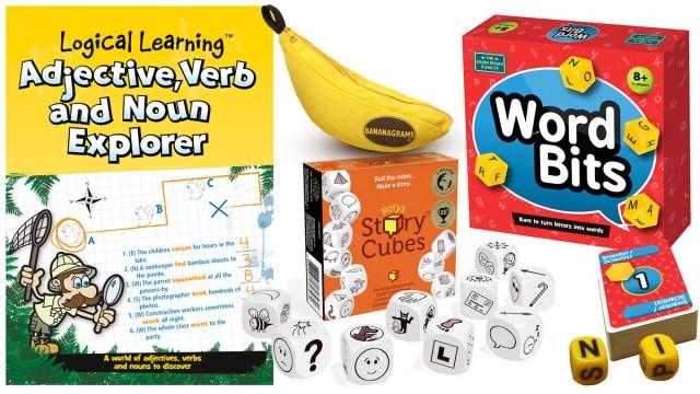 English Games, Images: Green Board Game Company, The Creativity Hub, Bananagrams