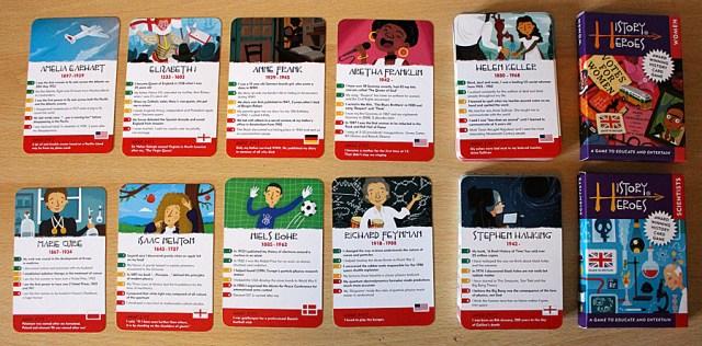 History Heroes Cards, Image: Sophie Brown
