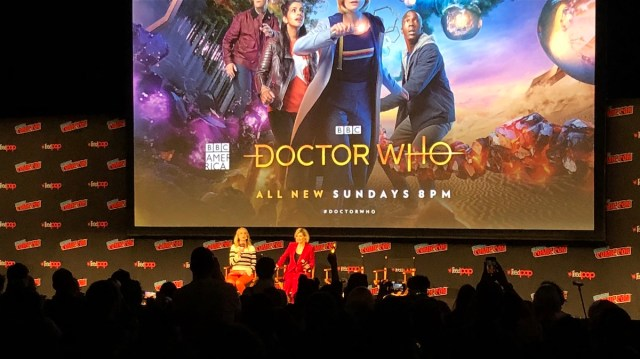Jodi Whittaker The 13th Doctor NYCC