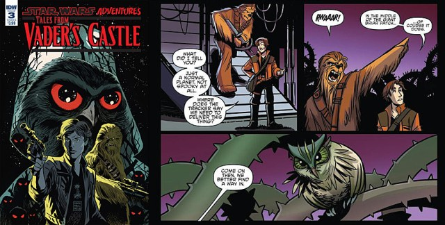 Tales From Vader's Castle #3, Images: IDW Publishing