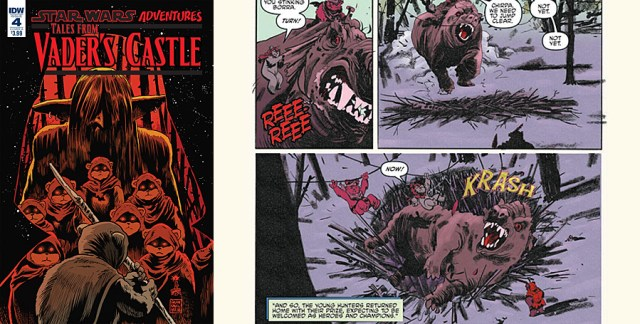 Tales From Vader's Castle #4, Images: IDW Publishing