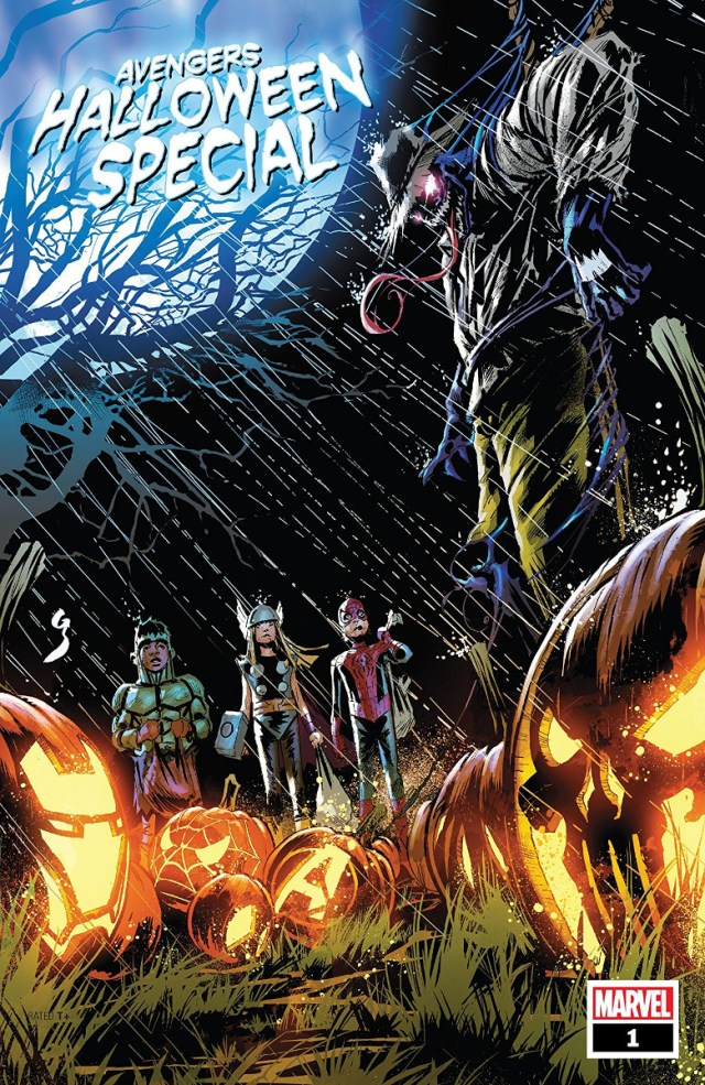 Avengers Halloween Special #1 cover art, via Marvel Comics