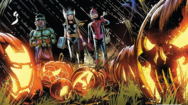 Avengers Halloween Special #1 is a Halloween Treat for Readers