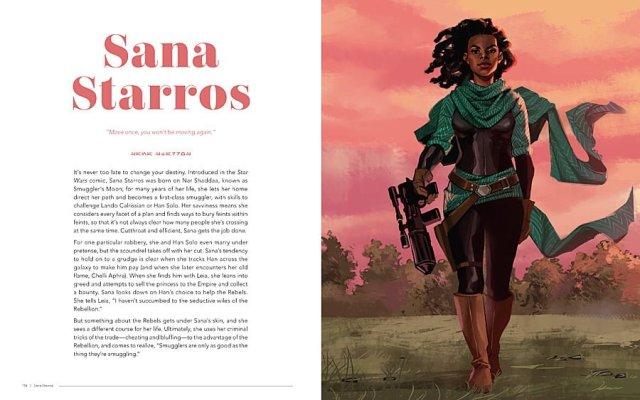 Sana Starros - Artist: Jennifer Aberin Johnson, Image © 2018 Lucasfilm Ltd. All Rights Reserved. Used Under Authorization