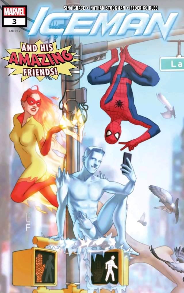 Recent comics Iceman #3