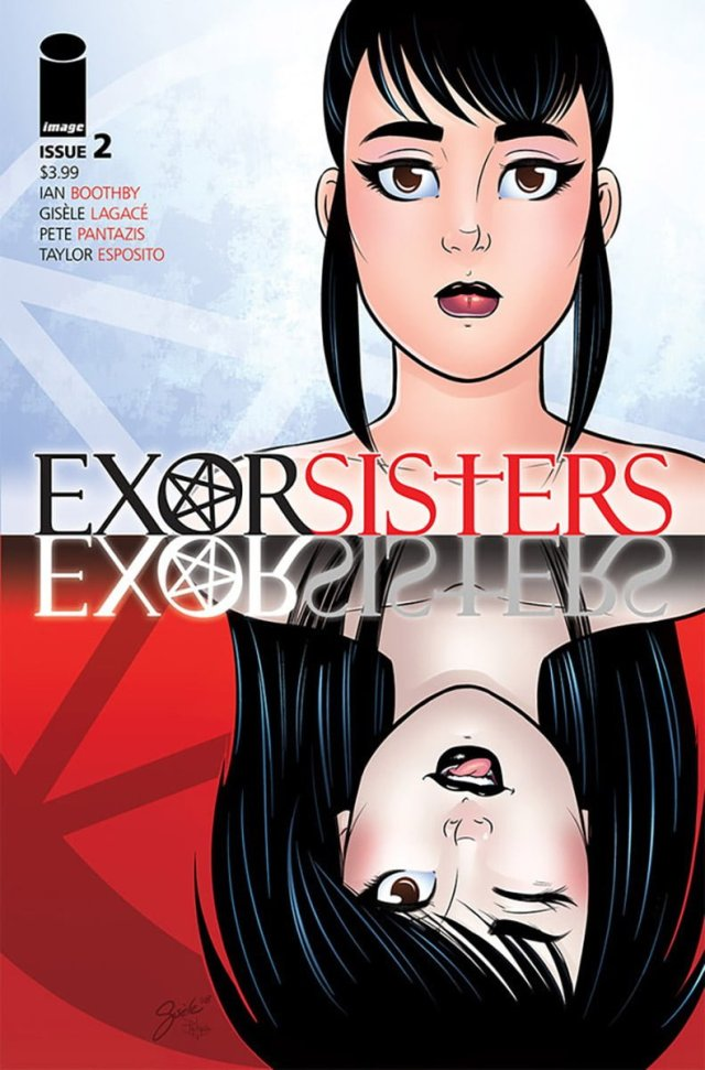 'Exorsister #2' Cover Art by Gisele Lagace, and Pete Pantazis