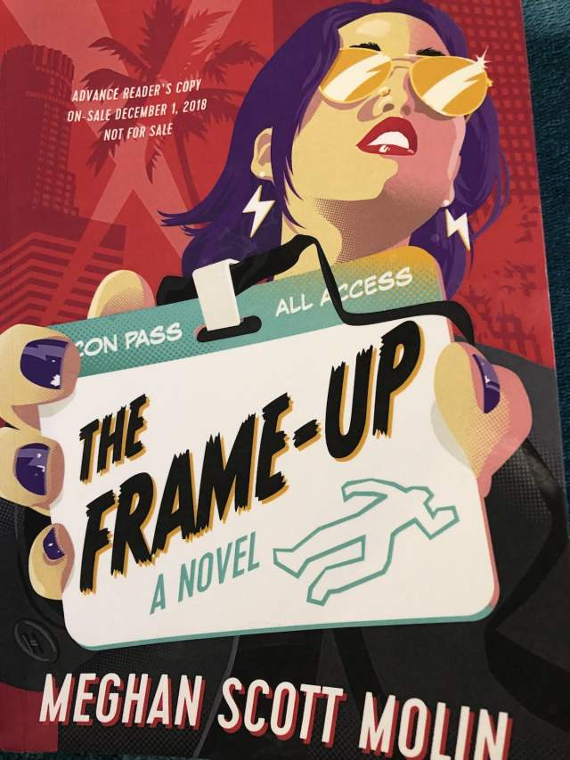 The Frame Up geeky mystery