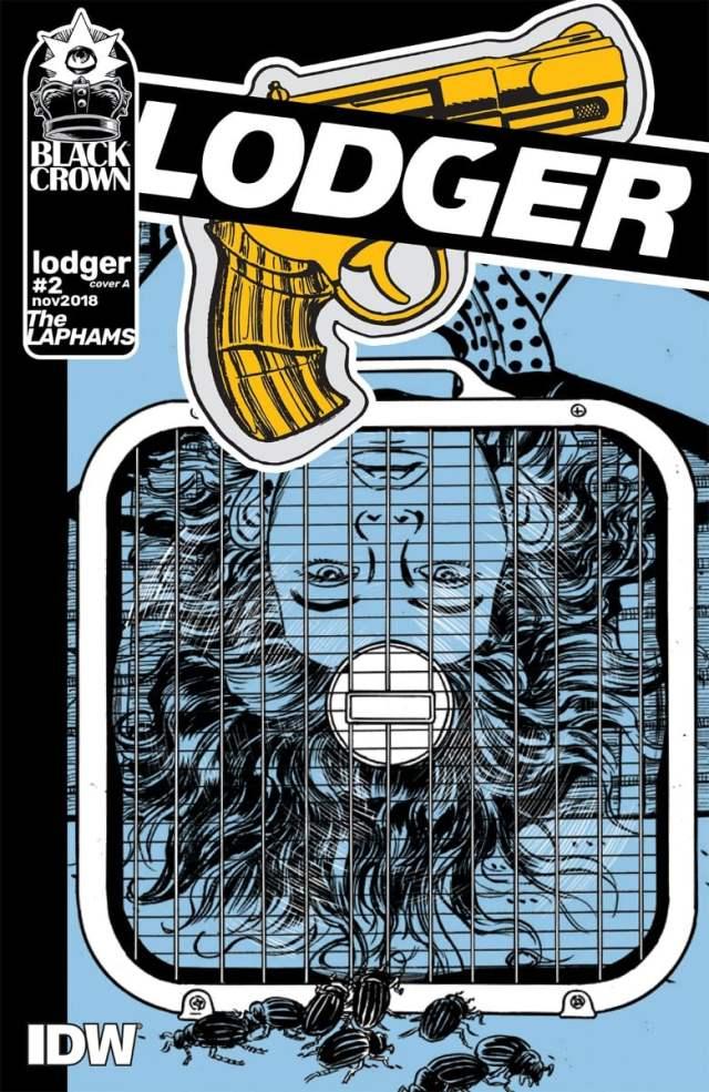new comics Lodger #2 cover