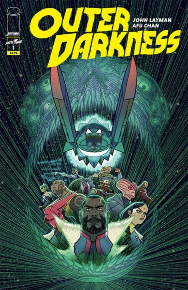 new comics Outer Darkness #1 cover
