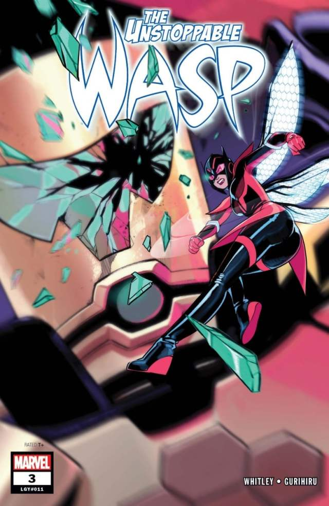 new comics Unstoppable Wasp Cover #3