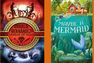 Covers for The League of Shadows and Maybe A Mermaid