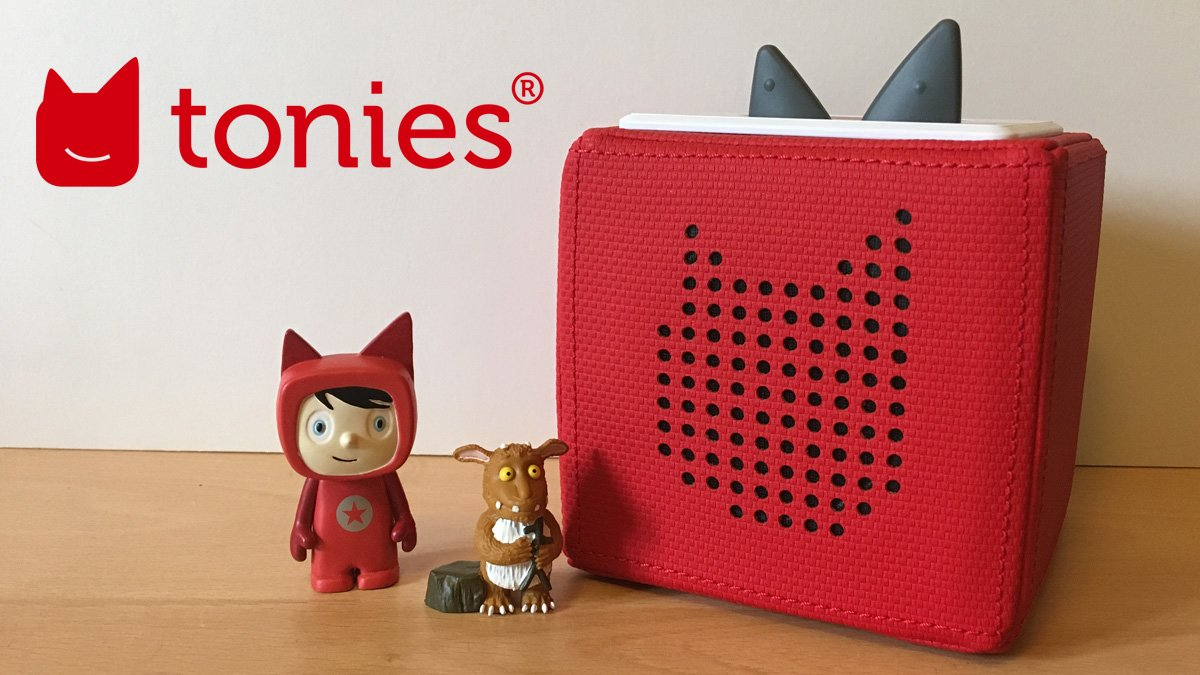 Tonies, Image: Sophie Brown (Logo: Tonies)