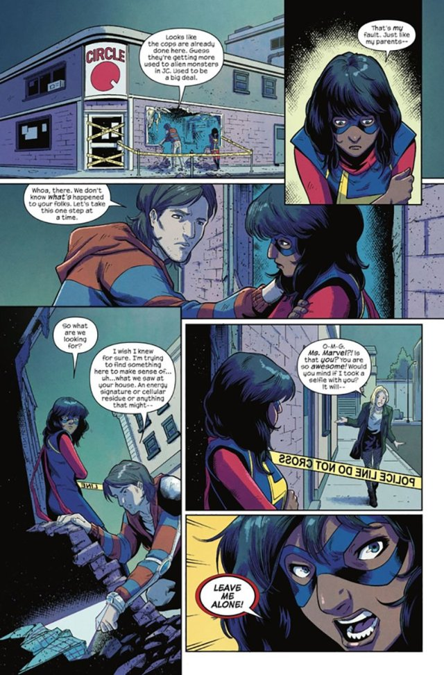 'The Magnificent Ms. Marvel #2' sample page 4
