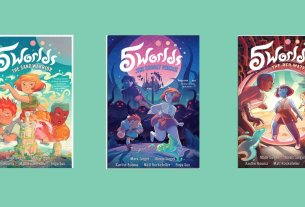 5 Worlds book covers