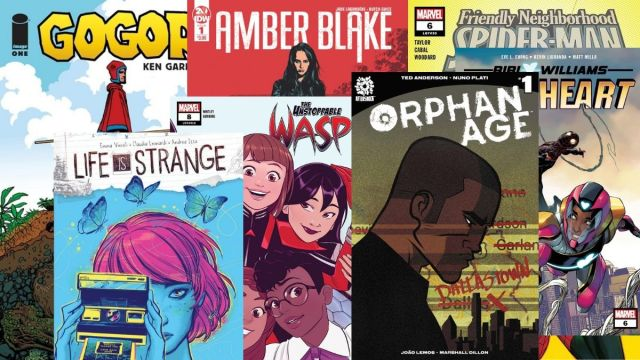 Spider-Man Amber Blake Orphan Age Life is Strange Gogor
