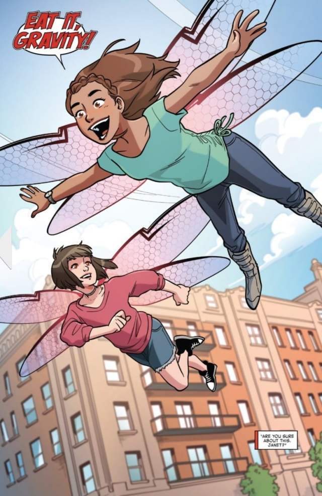 Image from Unstoppable Wasp Issue #6